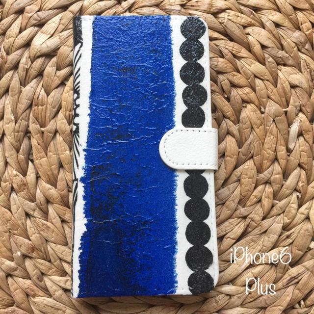 marimekko - iPhone6 Plus ハンドメイド マラリメッコ&和紙 手帳型ケースの通販 by さとみさくら's shop|マリメッコならラクマ