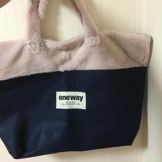 ワンウェイ(one*way)のoneway 限定バッグ(トートバッグ)