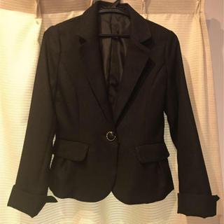 スーツ テーラードジャケット9号 ブラックラメ(スーツ)