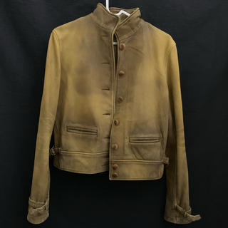 ラルフローレン(Ralph Lauren)のRalph Lauren ラルフローレン 羊革 ライダースジャケット(ライダースジャケット)