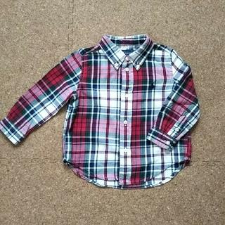 ラルフローレン(Ralph Lauren)のラルフローレン チェックシャツ 24M(ブラウス)