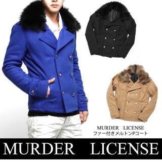 マーダーライセンス(Murder License)のマーダーライセンス   Pコート 44 ベージュ vanquish(ピーコート)