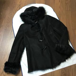 リアルムートン 羊革コート(ムートンコート)
