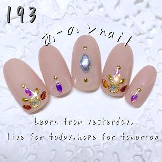 送料&カラー変更1色無料«193»ジェルネイルチップ♡*.(つけ爪/ネイルチップ)