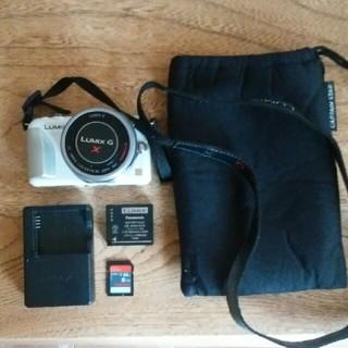 Lumix GF5 パワーズーム デジタル一眼カメラ ミラーレス(ミラーレス一眼)