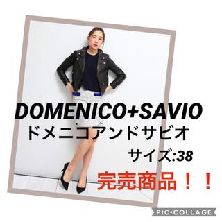 ドメニコアンドサヴィオ(DOMENICO+SAVIO)のDOMENICO+SAVIO studious ドメニコアンドサビオ(ライダースジャケット)