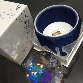 ヨンドシー(4℃)の4℃ ピンキーリング  ダイヤモンド(リング(指輪))