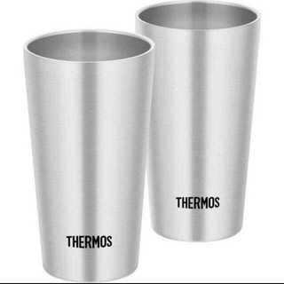 サーモス ステンレス真空断熱タンブラー 400ml×2(タンブラー)