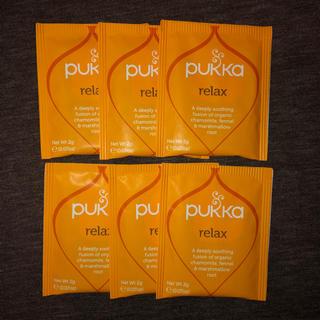 PUKKA relax ハーブティ 6袋 カモミール フェンネル(茶)