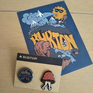 BURTON - BURTON★ピンバッチ ステッカー