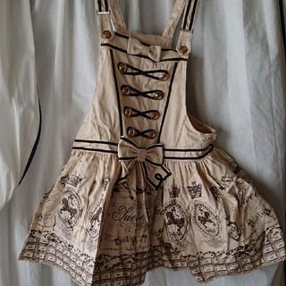 アンジェリックプリティー(Angelic Pretty)のangelic pretty  サロペットスカート(ひざ丈ワンピース)