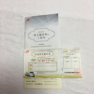 ジェイアール(JR)のJR九州 株主 優待券(その他)