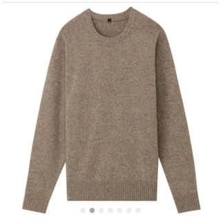 無印良品  クルーネックセーター