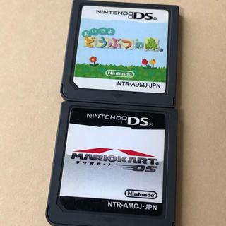 ニンテンドーDS(ニンテンドーDS)のマリオカート どうぶつの森(携帯用ゲームソフト)