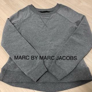 マークバイマークジェイコブス(MARC BY MARC JACOBS)のMARC BY MARC JACOBS  スウェット トレーナー グレー(トレーナー/スウェット)