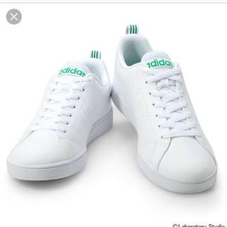 アディダス(adidas)の★激安★アディダス adidas バルクリーン2 ランニングホワイト×グリーン(スニーカー)