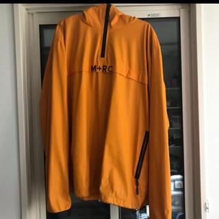 オフホワイト(OFF-WHITE)のマルシェノア storm jacket オレンジ(マウンテンパーカー)