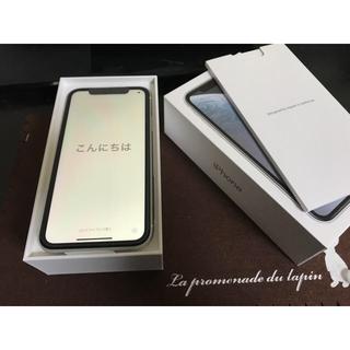 Apple - iPhone XR 64GB SIMロック解除 ホワイト SIMフリー