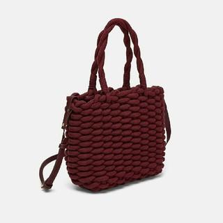 ザラ(ZARA)のZARA 編み込みロープデザイントートバッグ(トートバッグ)