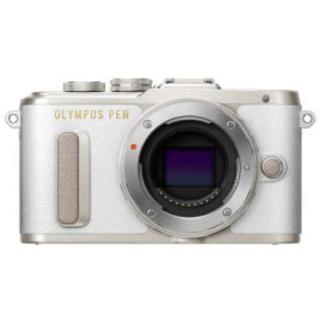 ★新品 OLYMPUS PEN E-PL8 ホワイト 白ボディ 1年保証付(ミラーレス一眼)