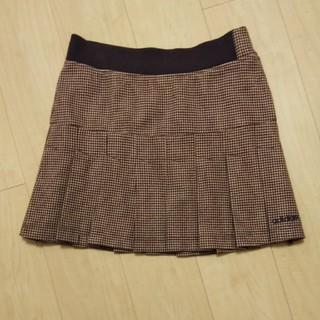 アディダス(adidas)のアディダス プリーツスカート Lsize(ミニスカート)
