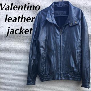 ジャンニバレンチノ(GIANNI VALENTINO)の GIANNI VALENTINO ラムレザー ジャケット 美品(レザージャケット)