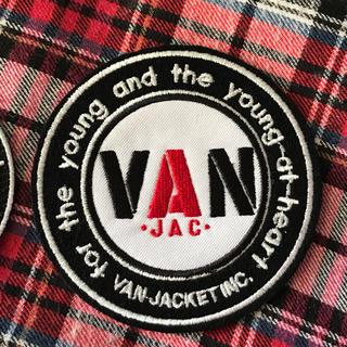 ヴァンヂャケット(VAN Jacket)のVAN JACKET人気の丸VANワッペン8.5cm送料込(その他)