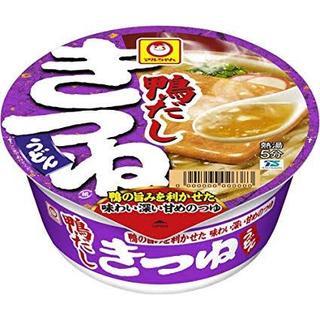マルちゃん 鴨だしきつねうどん  4食(麺類)