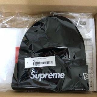 シュプリーム(Supreme)のsupreme シュプリーム ビーニー ニット帽 ブラック(ニット帽/ビーニー)