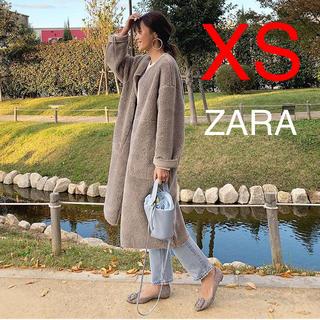 ザラ(ZARA)のZARA  リバーシブル ボアコート(ロングコート)