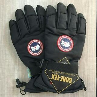 カナダグース(CANADA GOOSE)のCANADA GOOSE グローブ 手袋 ブラック(手袋)