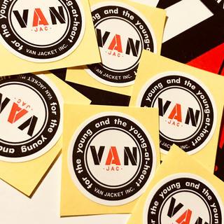 ヴァンヂャケット(VAN Jacket)のVAN 正規品ミニシール人気の丸VAN6枚セット!非売品モノ(その他)