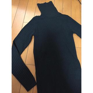 MUJI (無印良品) - 洗えるタートルネックセーター