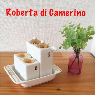新品❣️Roberta di Camerino 醤油差し、塩入れ、胡椒入れセット