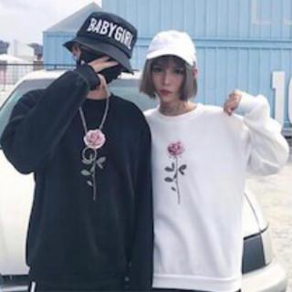 【大人気】韓国 ストリート ペアルック スウェット(トレーナー/スウェット)