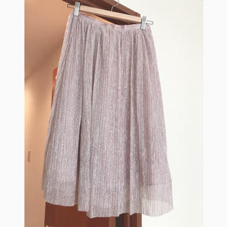 ザラ(ZARA)のZARA♡ラメスカート(ひざ丈スカート)