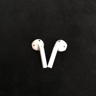 アップル(Apple)のairports (ヘッドフォン/イヤフォン)