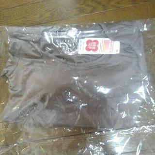 ユニクロ(UNIQLO)のM様専用❤新品❤UNIQLOブラトップ八分袖(アンダーシャツ/防寒インナー)