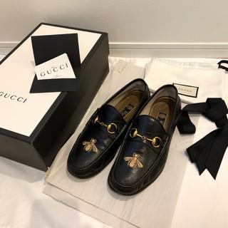 グッチ(Gucci)のGUCCI 17aw ホースビットレザーローファー(ドレス/ビジネス)