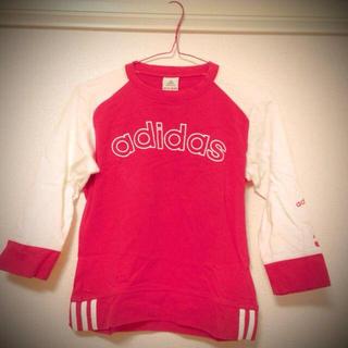 アディダス(adidas)のadidas■Tシャツused(Tシャツ(長袖/七分))