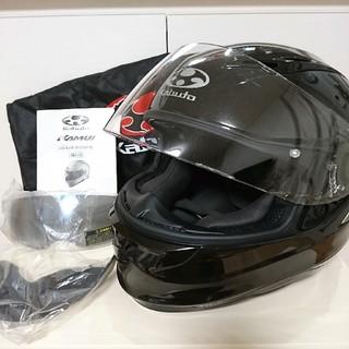 オージーケー(OGK)のKABUTO KAMUI ヘルメット・ブラック・M(ヘルメット/シールド)