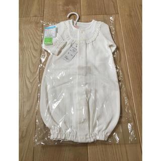 ニシマツヤ(西松屋)の新生児用 長袖コンビドレス 新品(セレモニードレス/スーツ)