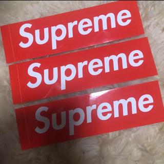 シュプリーム(Supreme)のSupreme ステッカー ボックスロゴ box logo (しおり/ステッカー)