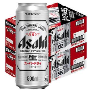 ★送料込★6ケース★アサヒスーパードライ500ml★(ビール)