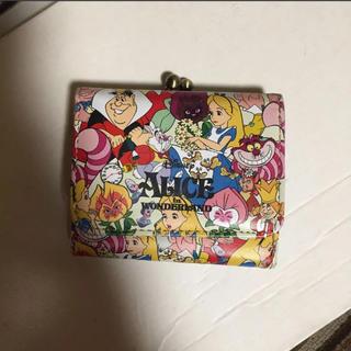 Disney - [年末 SALE]アリス 折りたたみ財布 新品