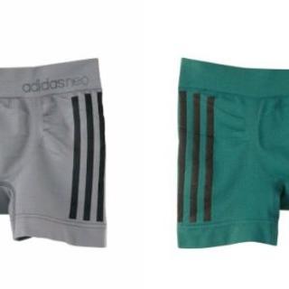 アディダス(adidas)のadidas アディダス neo ボクサー パンツ M LL XL 2枚 グレー(ボクサーパンツ)