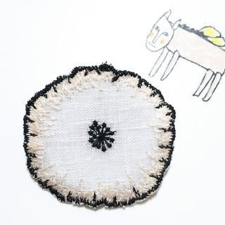 ミナペルホネン ハンドメイド ブローチ(コサージュ/ブローチ)