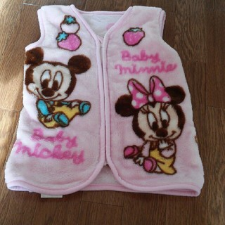 ディズニー(Disney)のミッキーミニー ベスト(毛布)