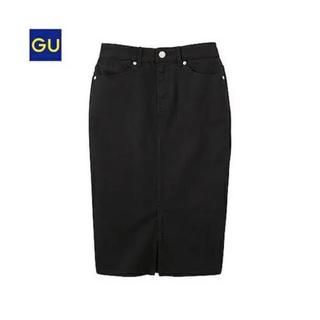 ジーユー(GU)のコーデュロイタイトスカート♡GU(ひざ丈スカート)