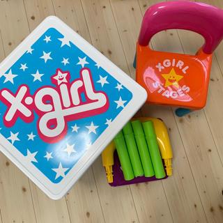 エックスガールステージス(X-girl Stages)のエックスガールステージス 机 椅子 テーブル チェア(その他)